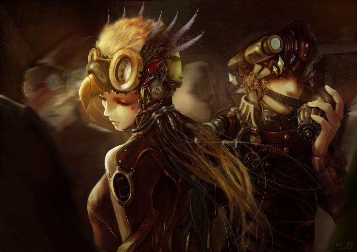 Steampunk Anime Wallpapers   Hot Girls Wallpaper