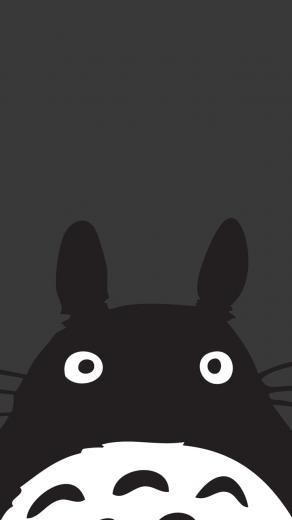 Totoro   Studio Gibhli iPhone wallpapers mobile9 i6 Wallpaper