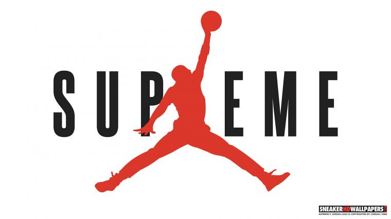 links Supreme x Jordan 4K wallpaper Supreme x Jordan HD wallpaper