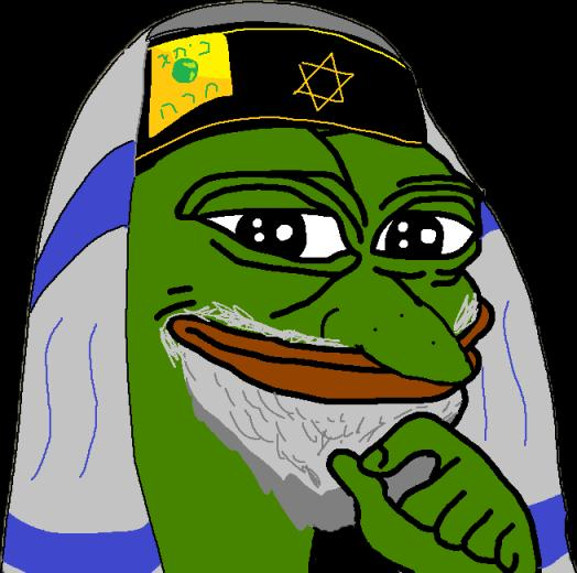 Smug Frog Meme Template for Pinterest