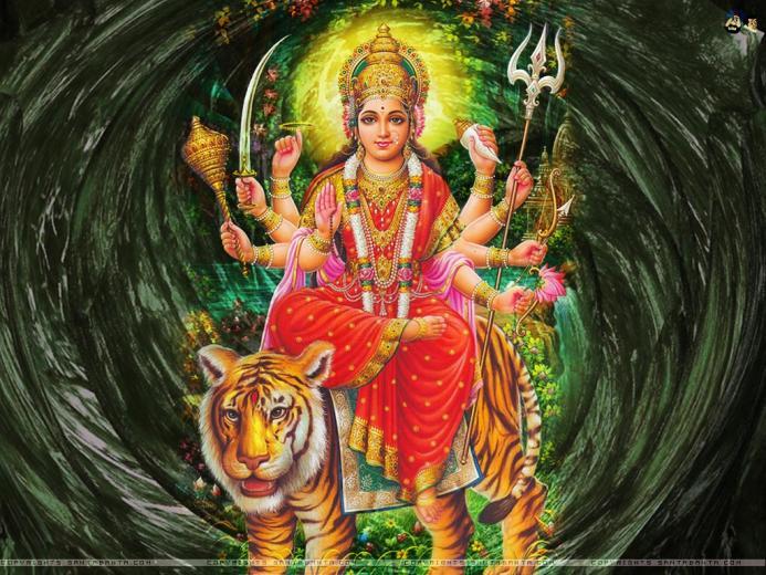 Goddess Durga 1024x768 Wallpaper 35