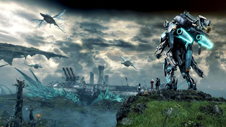 Xenoblade Chronicles X Game 2015 2048 x 1152 Download Close