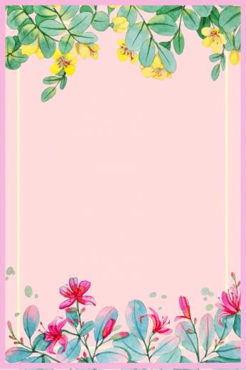 Pink Plant Art Fashion Clothing Background Flower Tree Summer