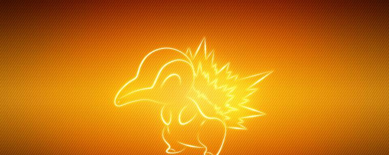 Pokemon Animal Cyndaquil Wallpaper Background Dual Monitor