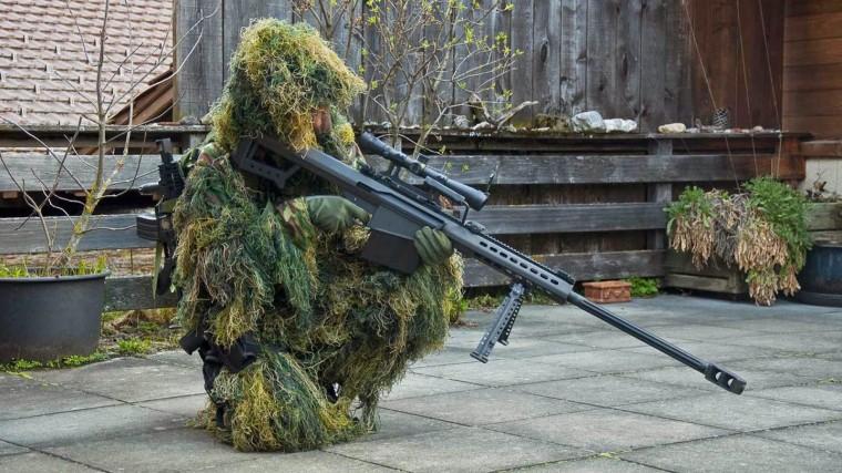 light fifty large caliber sniper rifle barrett firearms company sniper