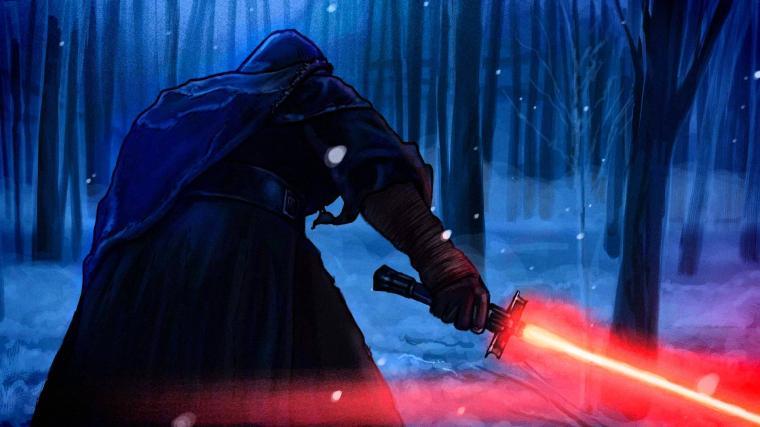 Kylo Ren Star Wars Motion Graphic