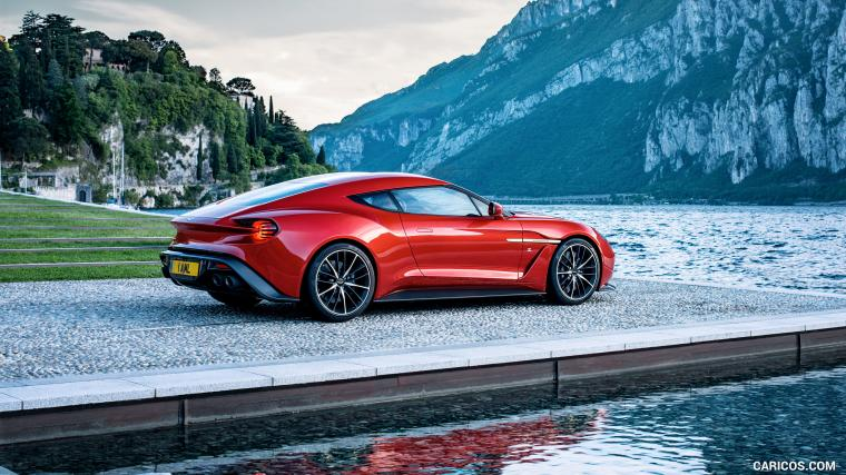 2016 Aston Martin Vanquish Zagato Concept   Side HD Wallpaper 19