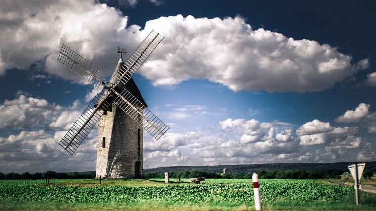 2560x1440 Windmill desktop PC and Mac wallpaper