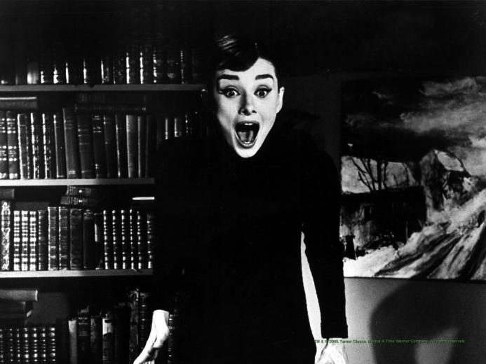 Audrey Hepburn Screaming Wallpapers HD