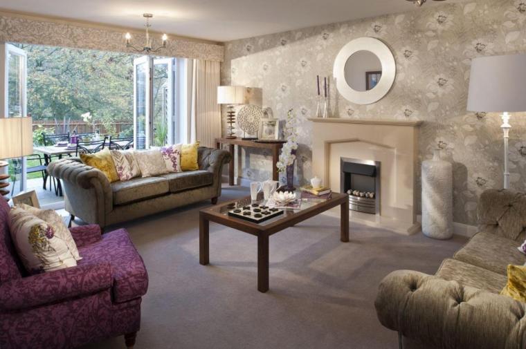 Wallpaper Living Room Design Ideas Photos Inspiration Rightmove