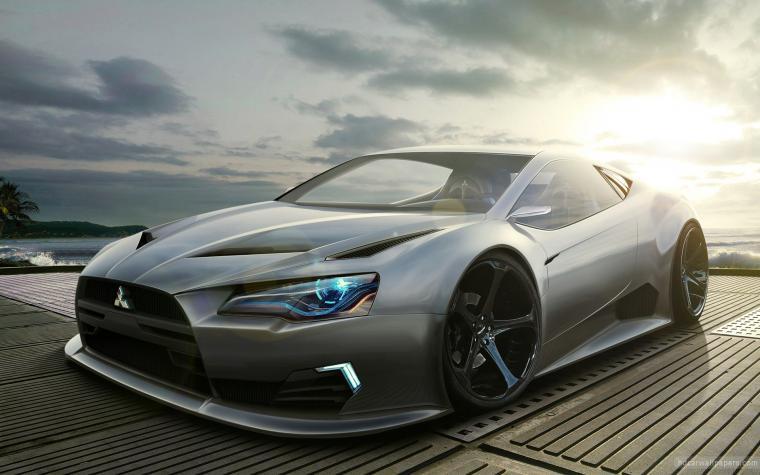 Mitsubishi Concept Wallpaper HD Car Wallpapers