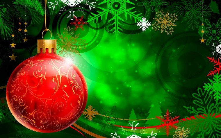 Christmas Vector Decorations Wallpapers Christian Wallpapers