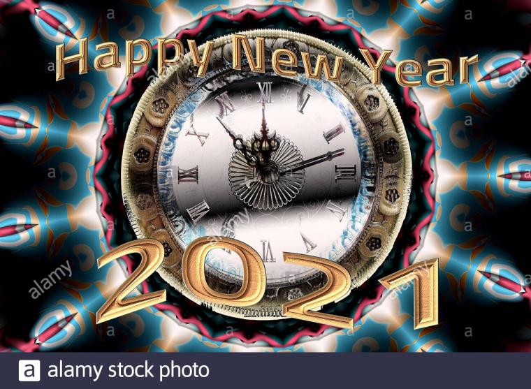 Happy New Year 2021 High Resolution Stock Photography and Images