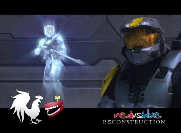 Rooster Teeth Made a Red vs Blue wallpaper currently working on a