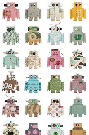 Robots   Kids Wallpaper Ideas Designs houseandgardencouk