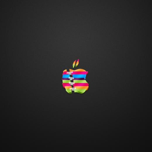 Apple Break Up Dark iPad Wallpaper Download iPhone Wallpapers iPad