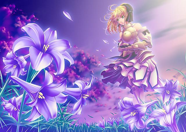 Konachancom   59726 fate stay night fate unlimited codes saber lily