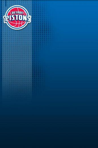 Detroit Pistons logo   Download iPhoneiPod TouchAndroid Wallpapers