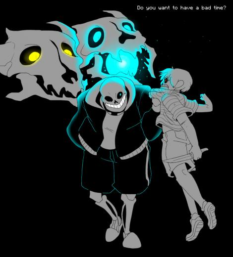 UNDERTALE SPOILERS] Bad Time by inside under