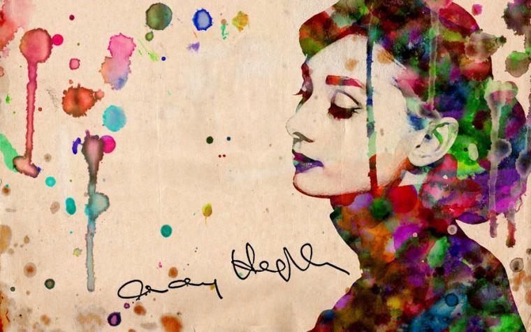 Audrey Hepburn Wallpaper by haueryou