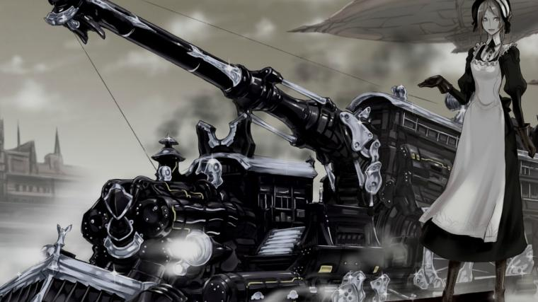 Anime Steampunk Wallpaper 1423x800 Anime Steampunk