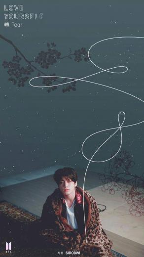 BTS wallpaper Jungkook Love Yourself Tear BTS BTS Bts