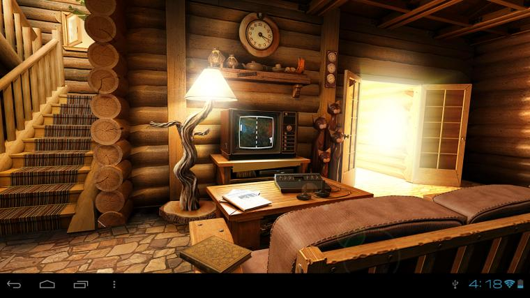 My Log Home 3D wallpaper FREE   Android Apps on Google Play