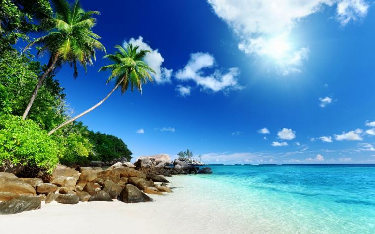 Desktop Wallpaper Tropical Island Pictures