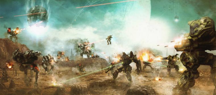 MechWarrior Online wallpaper 1