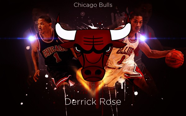 Derrick Rose Chicago Bulls Wallpaper on Behance