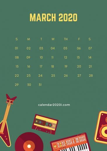2020 Calendar iPhone Wallpapers Calendar 2020 Calendar