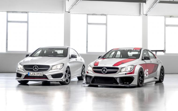 2014 Mercedes Benz CLA 45 AMG Racing Series Wallpaper HD Car