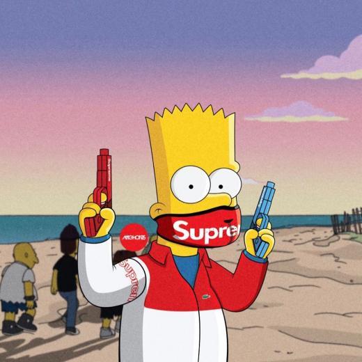 Hood Bart Simpson Supreme Wallpapers   Top Hood Bart Simpson