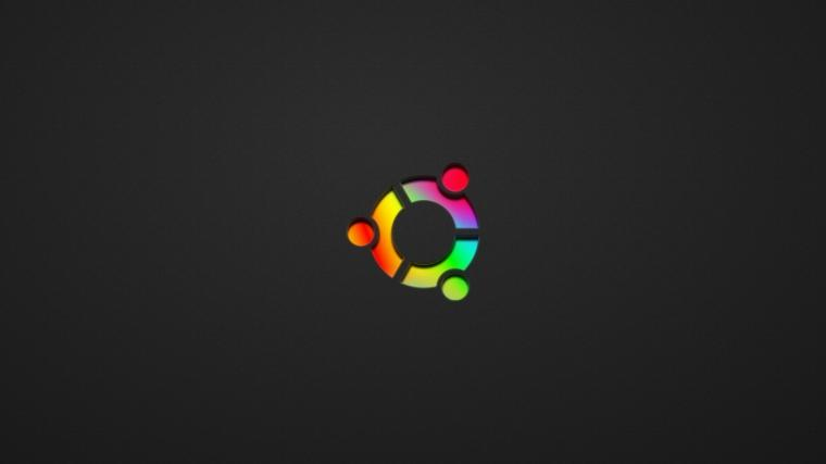 Wallpaper 1366x768 ubuntu black rainbow symbol laptop 1366x768 HD