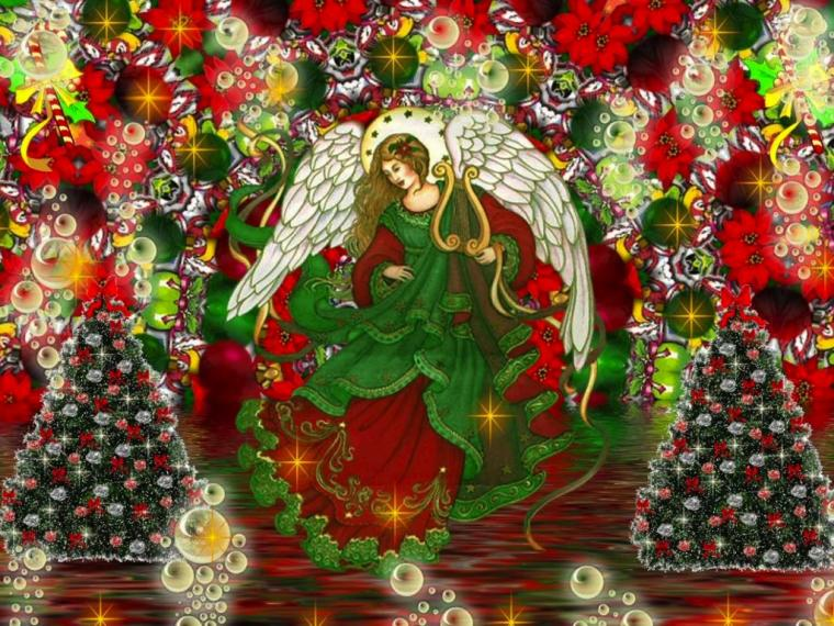 Christmas Angel wallpaper   Angels Wallpaper 33006993