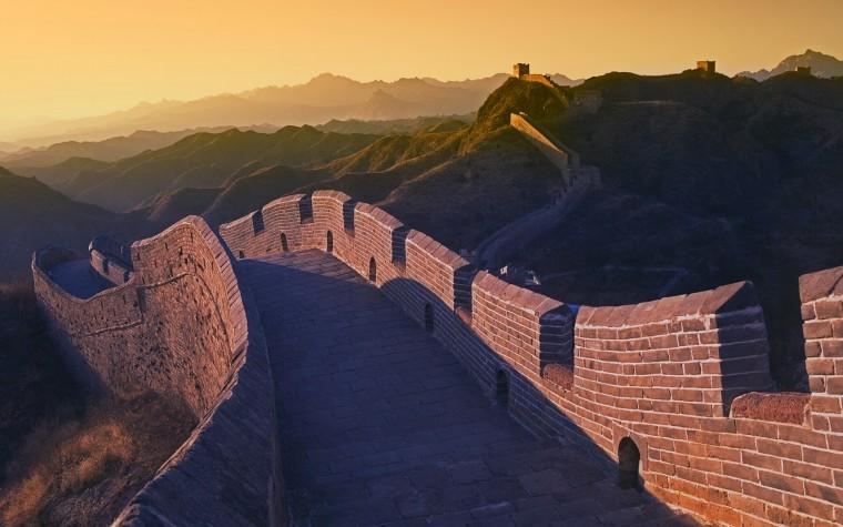 Great Wall of China desktop wallpaper