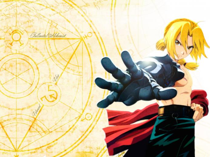 Anime Wallpaper Full Metal Alchemist
