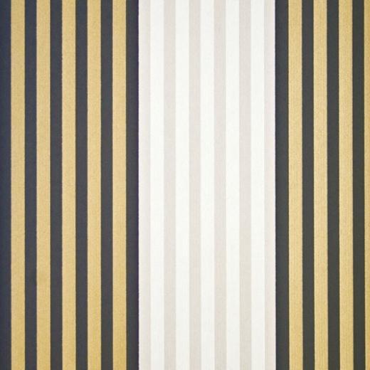Gold And Black Striped Wallpaper Cheltenham stripe wallpaper