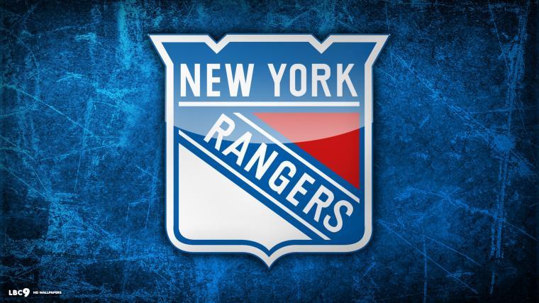 New York Rangers Hockey Logo Wallpaper