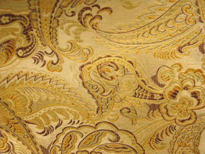 Gold Brocade by Cynnalia Stock