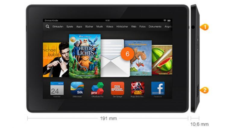 Kindle Fire HD 7 2013 Kleiner Tablet PC von Amazon