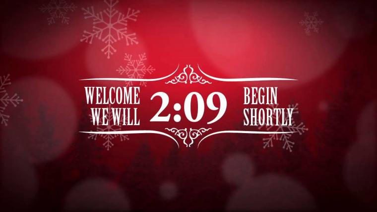 Christmas Countdown Wallpaper Moving Christmas event countdown