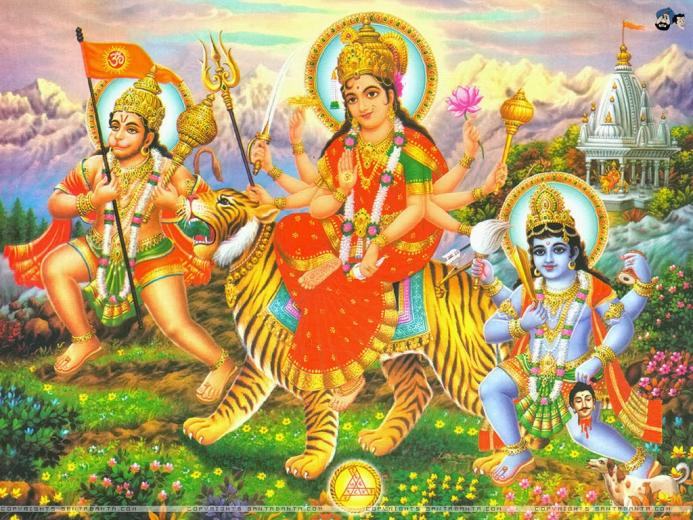 ALL IN ONE WALLPAPERS Goddess Durga HD Wallpapers