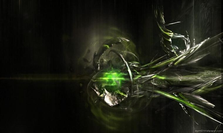 Black And Green Abstract Wallpaper 3456 Hd Wallpapers in Abstract