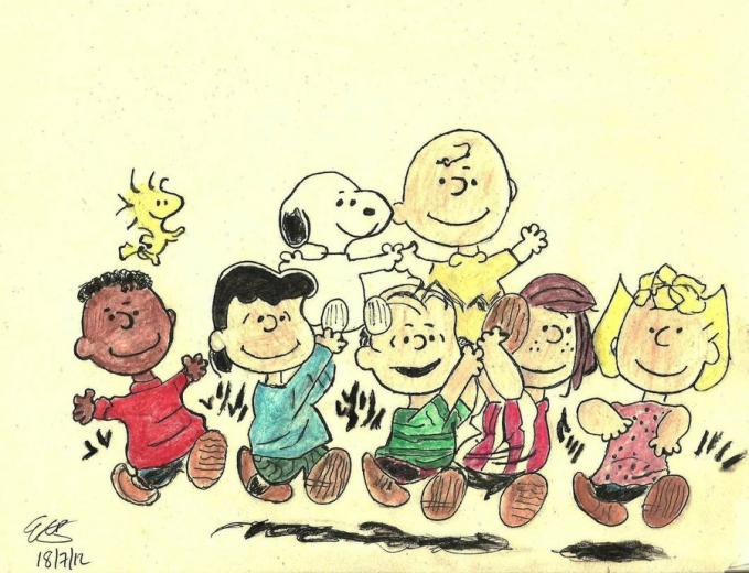 Peanuts Gang Wallpaper httpvamperindeviantartcomartPeanuts Gang