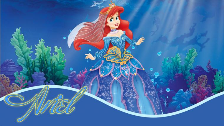 Disney HD Wallpapers Walt Disney Princess Ariel HD Wallpapers