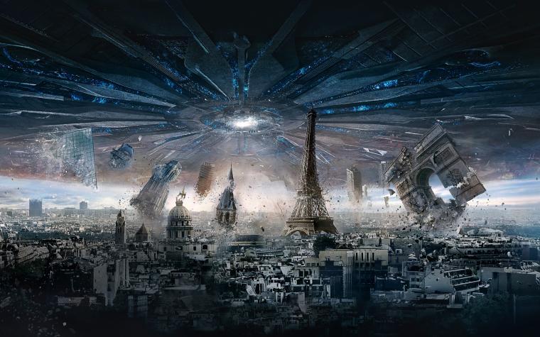 Independence Day Resurgence Paris HD Wallpaper Background