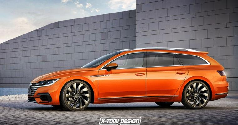 Its Official A VW Arteon Shooting Brake Is Happening And It Might