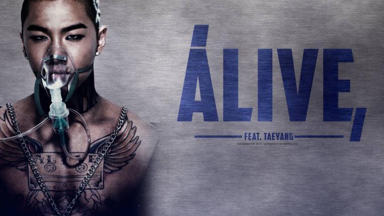 Alive ft Taeyang   Big Bang Wallpaper