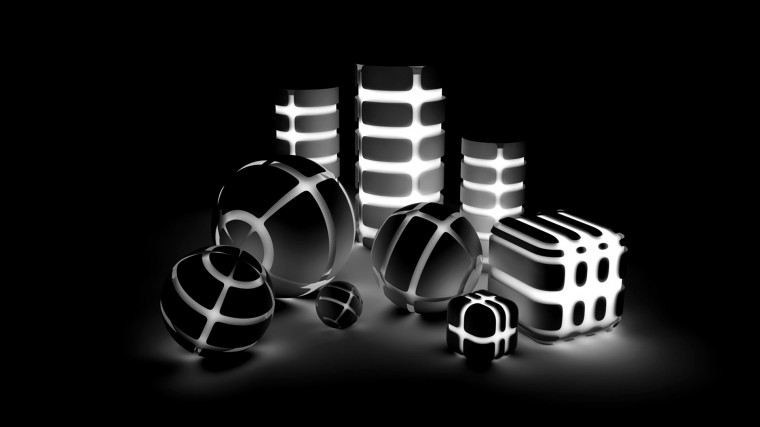 Wallpapers Black and White HD Wallpaper 3D Wallpapers Black and White